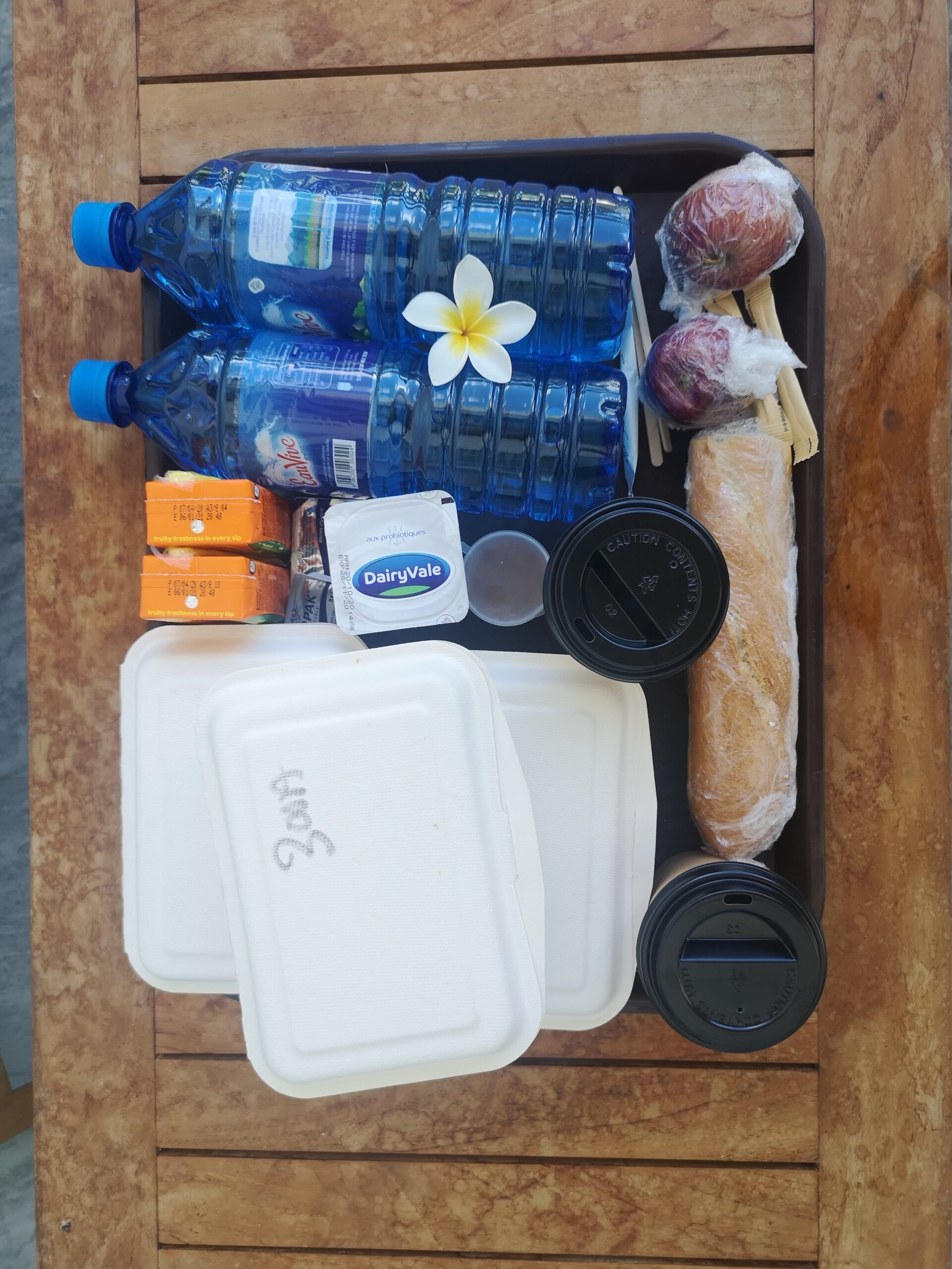 your packed meals